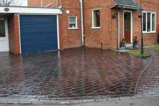 Revive Sun-Bleached Pattern Imprinted Concrete