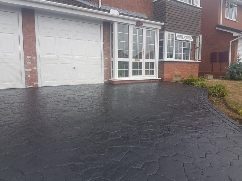 Imprinted Concrete Repair & Reseal – Tamworth, Staffordshire