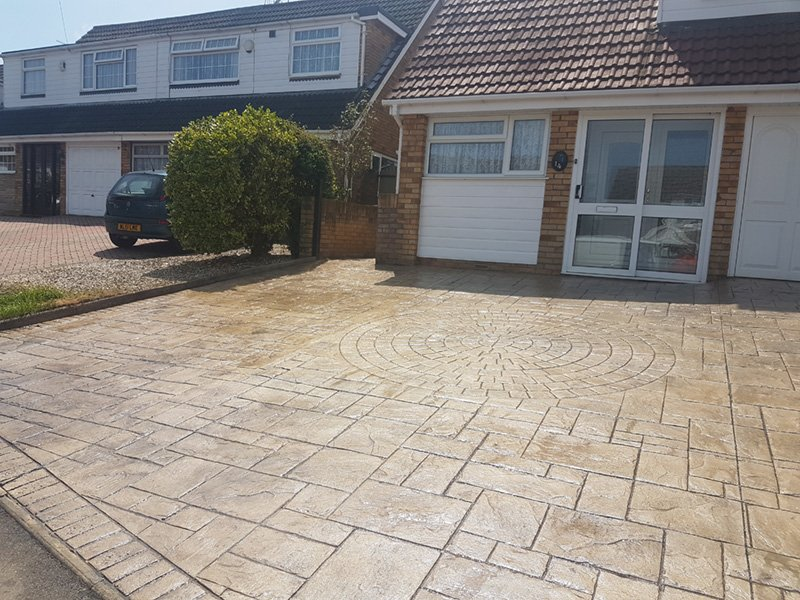 Imprinted Concrete Repair – Bristol