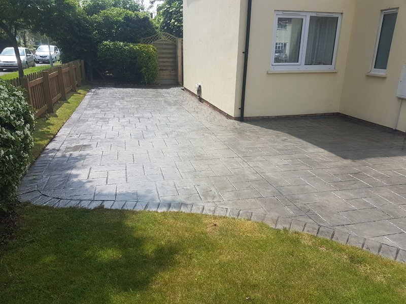 Imprinted Concrete Maintenance – Cambridge