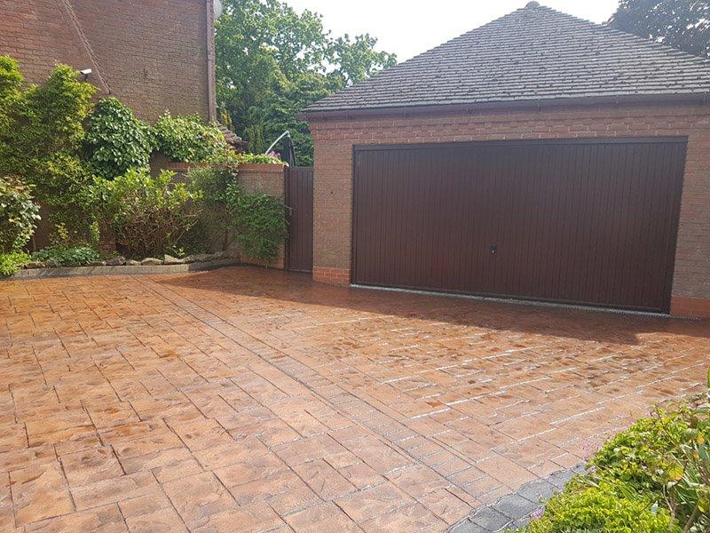 Pattern Concrete Repair – Solihull, Birmingham