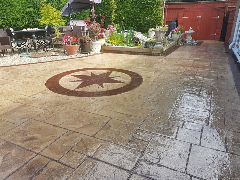 Patterned Concrete Reseals – Swindon